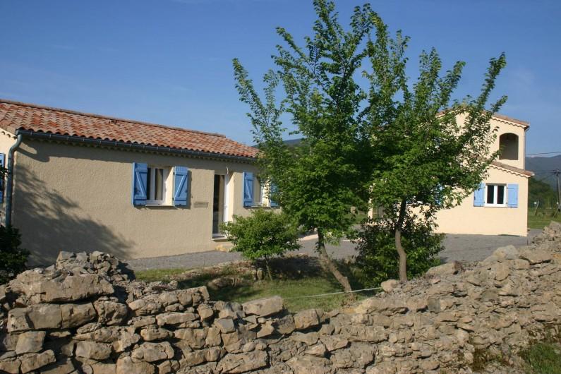 Location de vacances - Villa à Les Vans - Domaine La borne en Ardeche