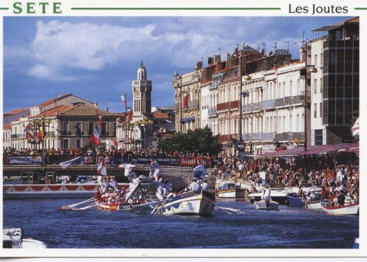 Location de vacances - Maison - Villa à Frontignan - les joutés, une curiosité de la région !