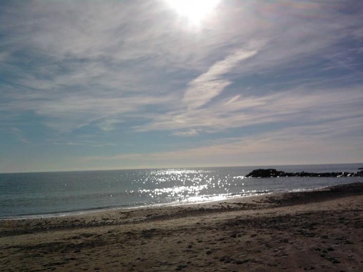 Location de vacances - Maison - Villa à Frontignan - la plage a 150m