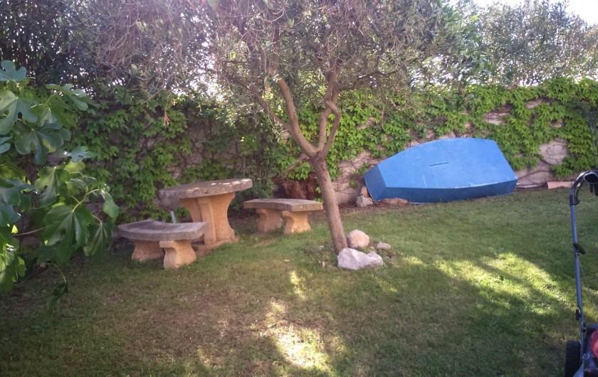 Location de vacances - Maison - Villa à Frontignan - jardin ouest