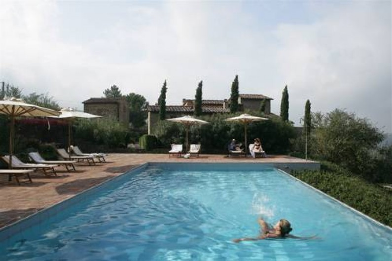 Location de vacances - Appartement à Greve in Chianti - Piscine