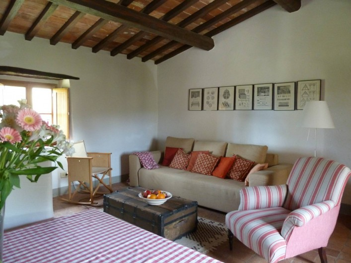 Location de vacances - Appartement à Greve in Chianti - Salon