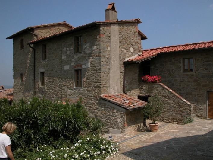 Location de vacances - Appartement à Greve in Chianti - Entrée de l`appartement