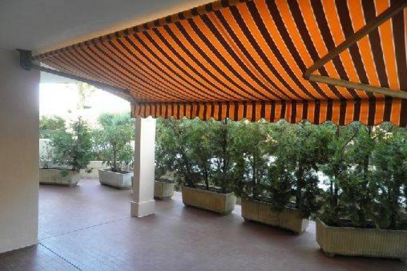 Location de vacances - Appartement à Cannes - Cannes beach- Terrasse -partie découverte
