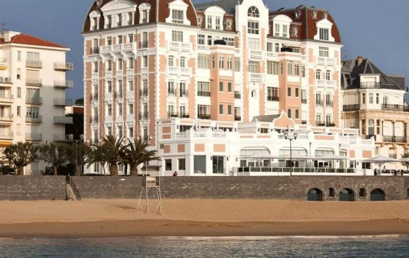 Location de vacances - Hôtel - Auberge à Saint-Jean-de-Luz