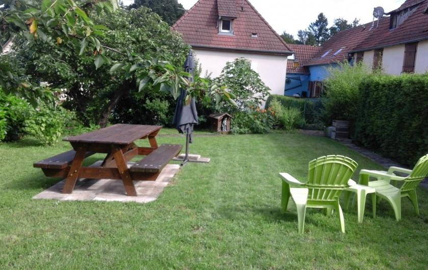 Location de vacances - Gîte à Ottrott - Jardin