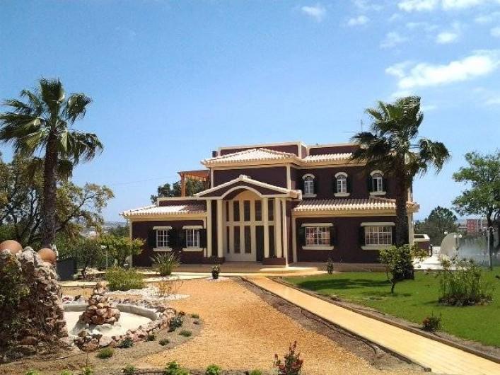 Location de vacances - Appartement à Armação de Pêra - Villa Solar Da Praia côté jardin