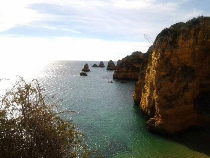 Location de vacances - Appartement à Armação de Pêra - l'océan et les falaises