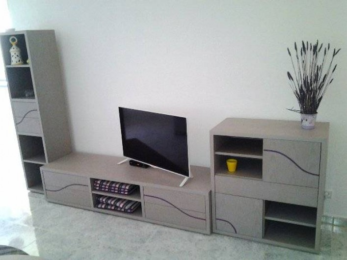 Location de vacances - Appartement à Armação de Pêra - Coin TV