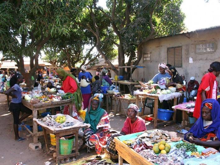 Location de vacances - Villa à Somone - Le marché de Somone.