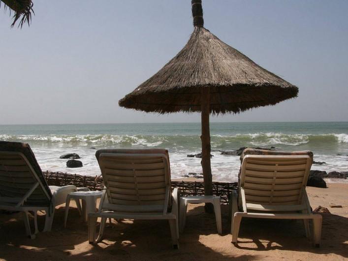 Location de vacances - Villa à Somone - La plage du vivier à Somone.