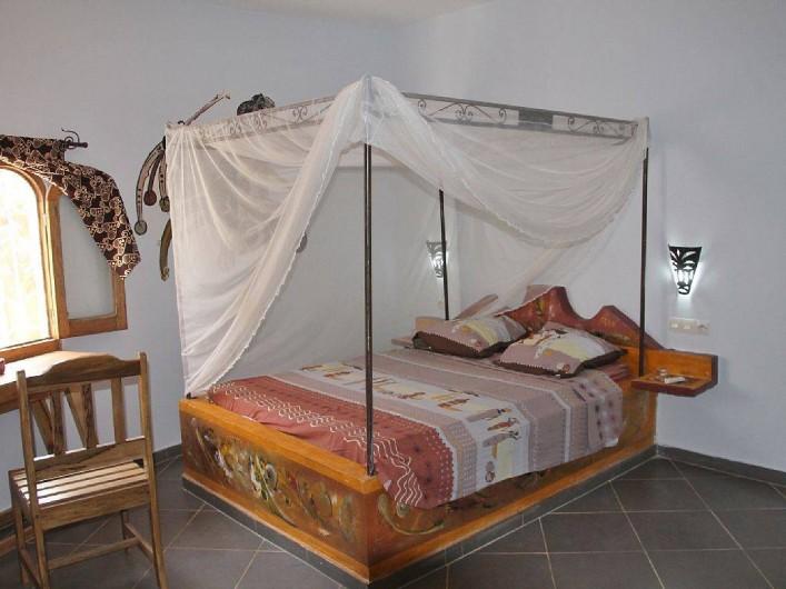 Location de vacances - Villa à Somone - Une chambre.
