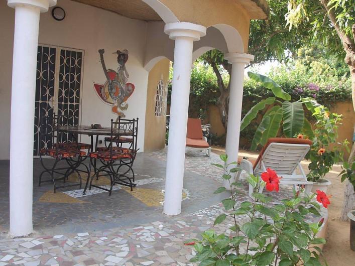 Location de vacances - Villa à Somone - La terrasse.