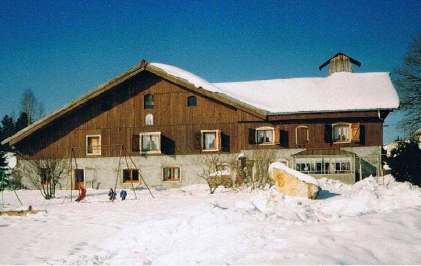 Location de vacances - Gîte à Fournets-Luisans - Gite Hiver