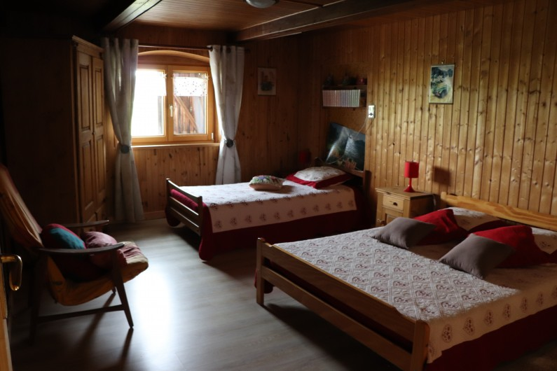 Location de vacances - Gîte à Fournets-Luisans - Salon