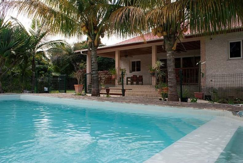 Villa confortable a la ligne paradis avec piscine saint pierre for Villa vacances piscine