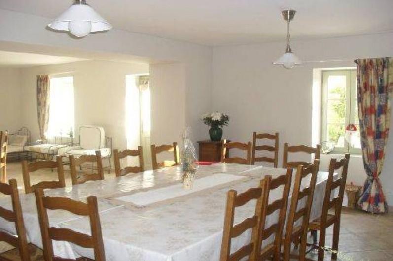 Location de vacances - Maison - Villa à Richerenches - Séjour table 16 personnes