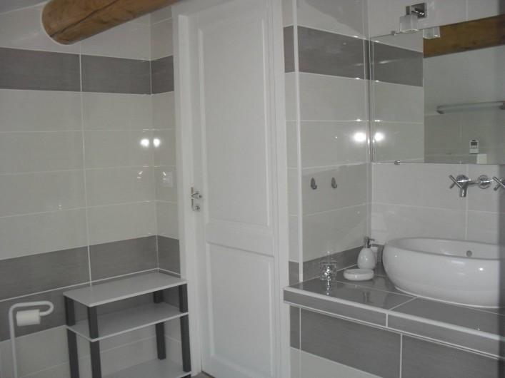 Location de vacances - Maison - Villa à Richerenches - salle d'eau 3