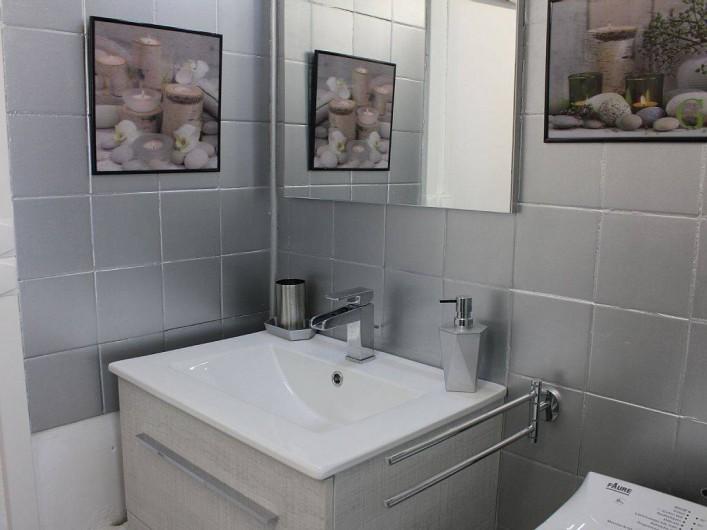 Location de vacances - Studio à L'Isle-sur-la-Sorgue - Le coin lavabo