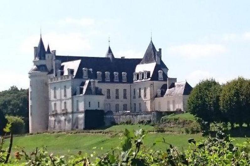 Location de vacances - Roulotte à La Chapelle-Blanche-Saint-Martin - Le Château de Grillemont à la Chapelle Blanche St Martin (37)