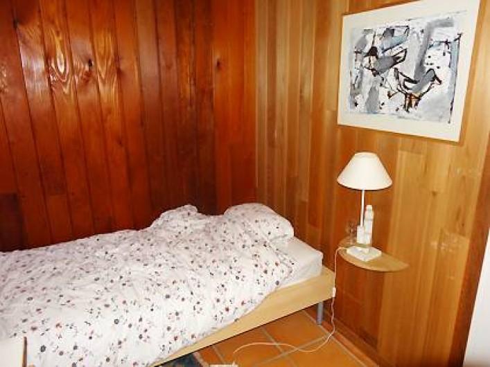 Location de vacances - Villa à Le Cap Ferret - Chambre 3 avec deux lits de 70