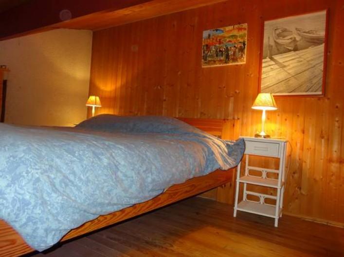 Location de vacances - Villa à Le Cap Ferret - Chambre 4  d'apoint en medzanine avec lit de 160