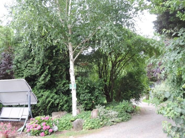 Location de vacances - Gîte à Lontzen - Une partie du jardin