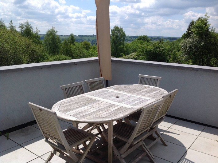 "Location de vacances - Villa à Malmedy - Terrase du ""Belle-vue"""