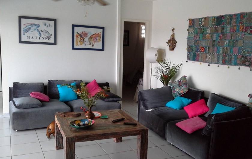 Location de vacances - Villa à Les Anses-d'Arlet - SALON