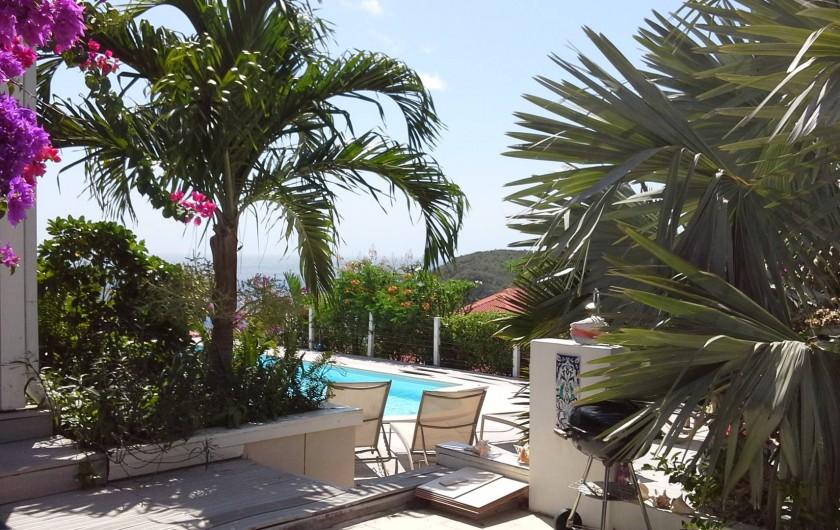 Location de vacances - Villa à Les Anses-d'Arlet - DEPUIS L ENTREE
