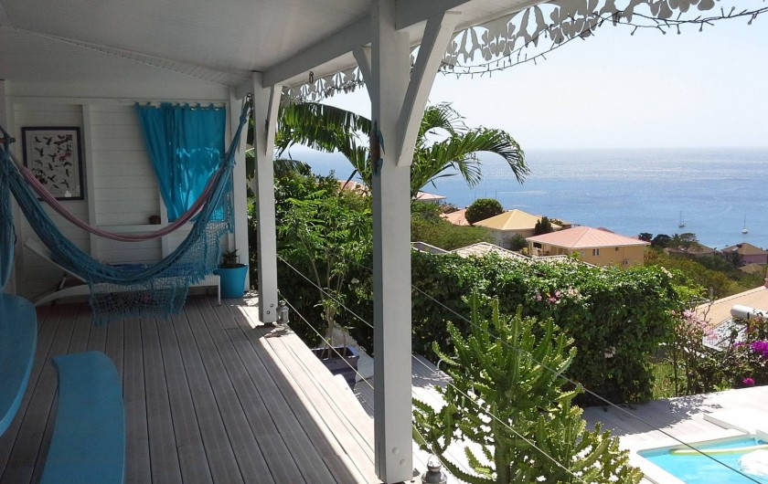 Location de vacances - Villa à Les Anses-d'Arlet - DEPUIS LA CUISINE