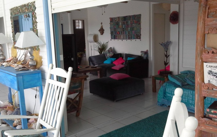 Location de vacances - Villa à Les Anses-d'Arlet - DEPUIS LA TERRASSE