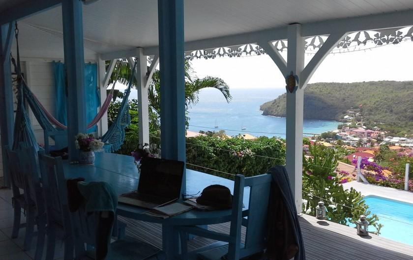 Location de vacances - Villa à Les Anses-d'Arlet - SALLE A MANGER