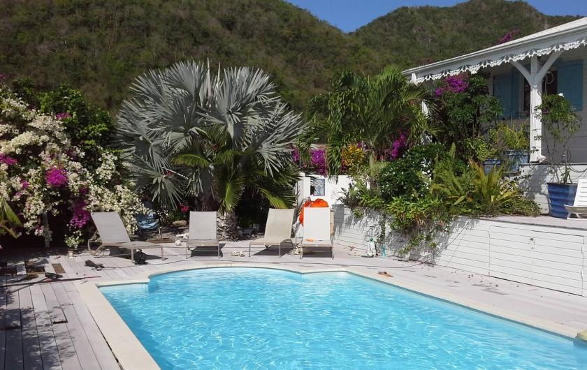 Location de vacances - Villa à Les Anses-d'Arlet - VUE SUR LE MORNE