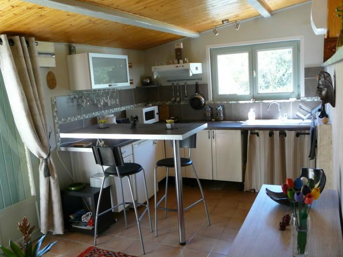Location de vacances - Gîte à Nîmes - Cuisine entièrement équipée