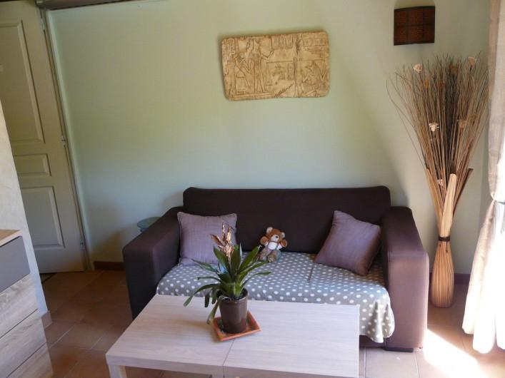 Location de vacances - Gîte à Nîmes - Salon avec tv