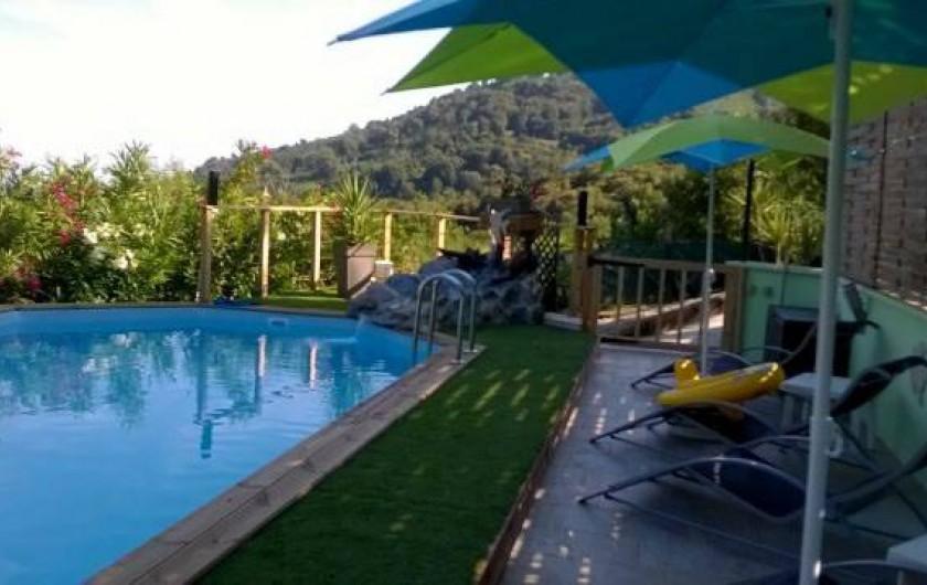 Location de vacances - Appartement à San-Giuliano - Piscine