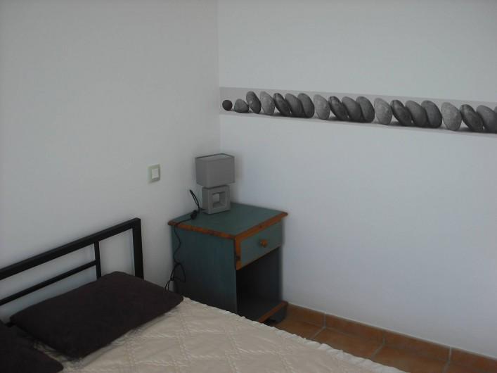 Location de vacances - Appartement à San-Giuliano - Chambre 2 lit double