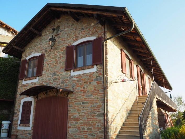 Location de vacances - Appartement à Verduno - La maison sud ouest
