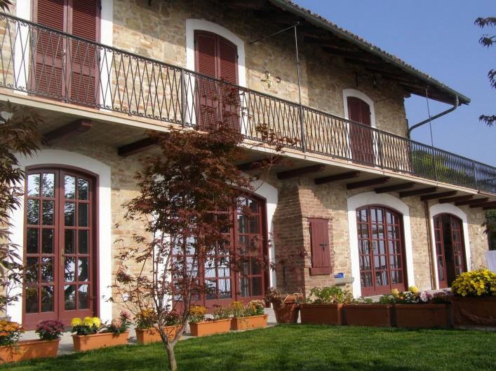 Location de vacances - Appartement à Verduno - La maison a sud est
