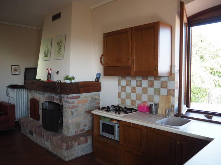 Location de vacances - Appartement à Verduno - Sejour Marrone