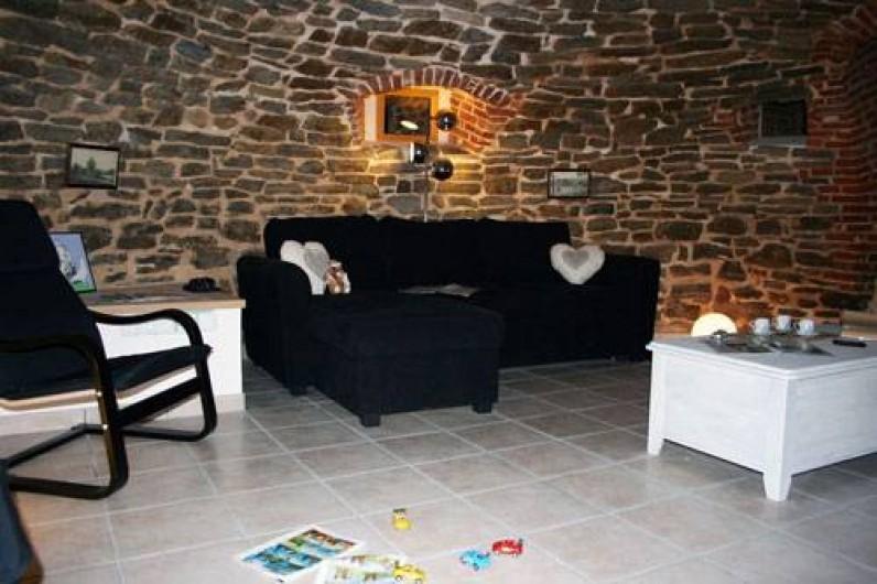 Location de vacances - Insolite à Baincthun - Le salon coté détente