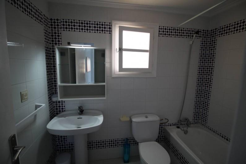 Location de vacances - Appartement à Torrevieja - Salle d'eau