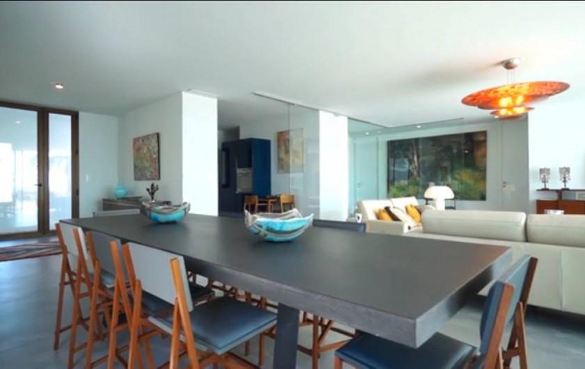 Location de vacances - Villa à Taglio-Isolaccio - Salle à manger