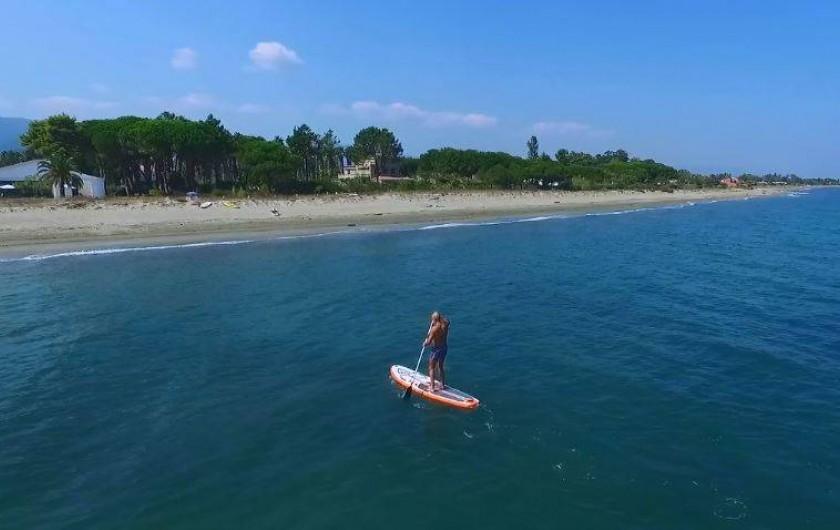 Location de vacances - Villa à Taglio-Isolaccio - Paddle