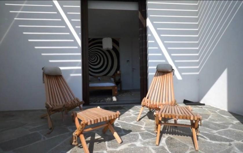 Location de vacances - Villa à Taglio-Isolaccio - Terrasse privative
