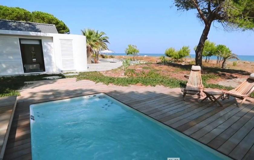 Location de vacances - Villa à Taglio-Isolaccio - Piscine -Spa