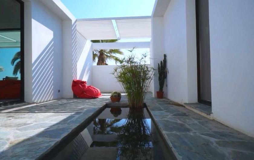 Location de vacances - Villa à Taglio-Isolaccio - Patio