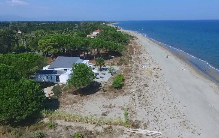 Location de vacances - Villa à Taglio-Isolaccio - Vue aérienne