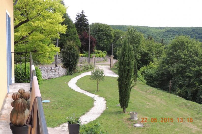 Location de vacances - Chambre d'hôtes à Grimault - Parking privé